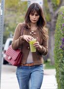 Джордана Брюстер, фото 1237. Jordana Brewster - booty in jeans leaving Lemonade in West Hollywood 02/29/12, foto 1237