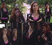 Allison Scagliotti lots of cleav/legs WH 13 S5 E4,6