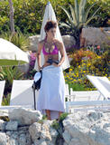 Elisabetta Canalis | Bikini Candids poolside at the Eden Roc Hotel in Antibes | May 16 | 31 pics
