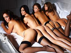 Nuts Magazine - Busty Babes in Bed (2010)