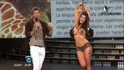 Strip de famosa vedette argentina