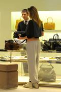 Belen Rodriguez - out shopping in Milan - November 3, 2010