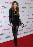 Дэйви Чейз, фото 255. Daveigh Chase Nylon Magazine 12th Anniversary Issue Party with the 'Sucker Punch' cast at Tru Hollywood on March 24, 2011 in Hollywood, California, foto 255
